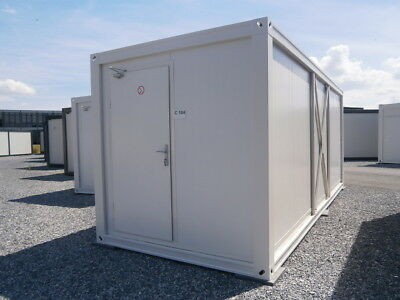 Sanitärcontainer Duschcontainer, WC Container  15 m²