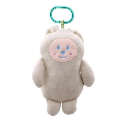 Baby Rattle Plush Bear Rabbit Doll Animals Stroller Pram Bed Hanging Toy LC