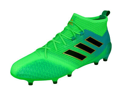 huge discount f169e 78182 adidas Ace 17.1 Primeknit FG Mens Ankle Soccer Cleats Football Shoes - Green