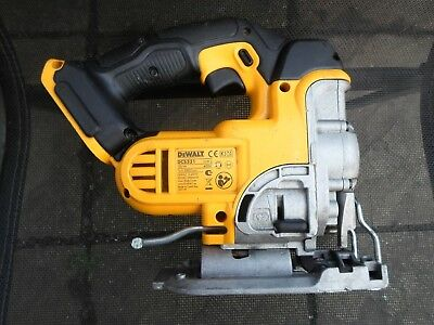 Dewalt 18v XR Li-ion cordless jigsaw DCS331 fully working *bare unit*