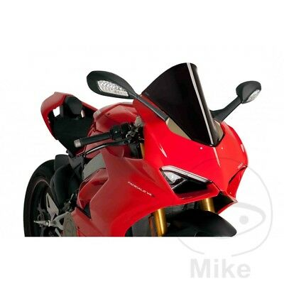 Puig Black Racing Screen Windshield Ducati Panigale 1100 V4 Speciale ABS 2018