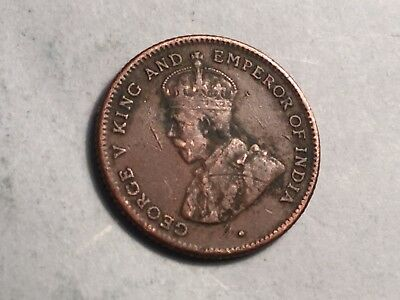 STRAITS SETTLEMENT 1916 1/4 cent coin Nice Condition