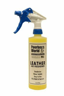 Poorboys Leather Air Freshener With Trigger For Interior Car Care 473mL