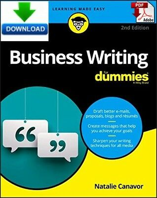 Business Writing For Dummies - Read on PC, Tablet or Phone  - Fast PDF  DOWNLOAD