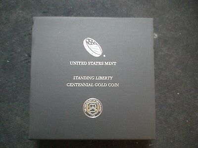 2016 W Gold Standing Liberty Quarter In Original Mint Packaging Priced To Sell