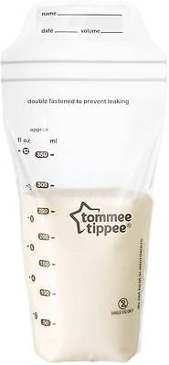 Tommee Tippee Closer To Nature Milk Storage Bags X36 Breast Feeding -BN