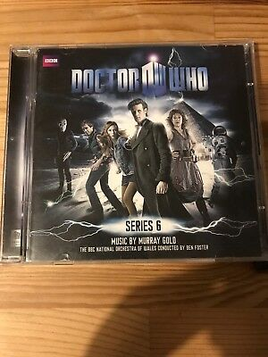 Doctor Who Music From Series 6 2CD Set Original Soundtrack BBC Dr Murray Gold