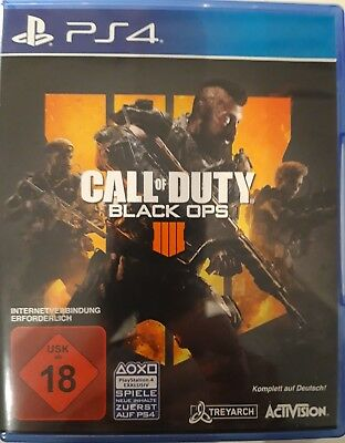 Call of Duty Black Ops 4  Sony PlayStation 4  2018, sehr guter Zustand