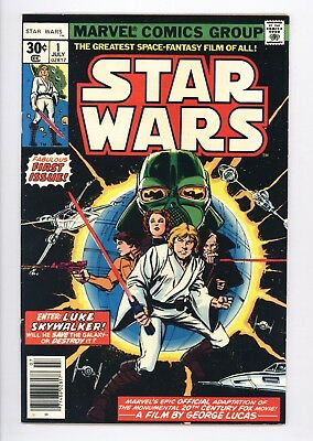 Star Wars #1 Vol 1 Near Perfect High Grade A New Hope Movie Adaptation 1977