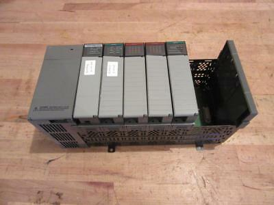 Used Allen Bradley SLC 500 1746-P1 Power Supply SLC 5/20 CPU 7 Slot Rack