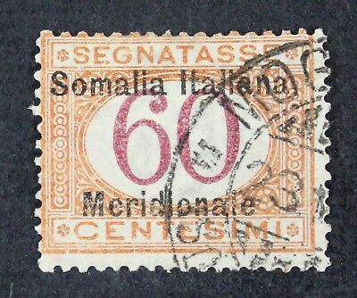 CKStamps: Italy Somalia Stamps Collection Scott#J7 Used Signed