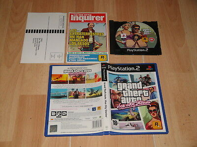 Grand Theft Auto Vice City Stories Gta De Rockstar Para La Sony Ps2 Buen Estado