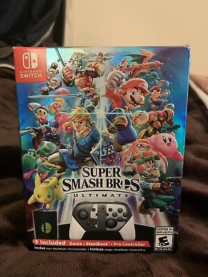 Super Smash Bros Ultimate SPECIAL EDITION - Nintendo Switch - NEW, NEVER OPENED
