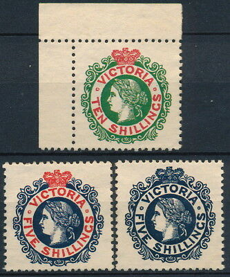 Australia - Victoria , Nice Forgery Lot Of 3 Um/nh Classic Stamps, See..  #l466