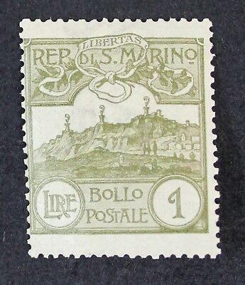 CKStamps: Italy San Marino Stamps Collection Scott#69 Mint NH OG Gum Disturb