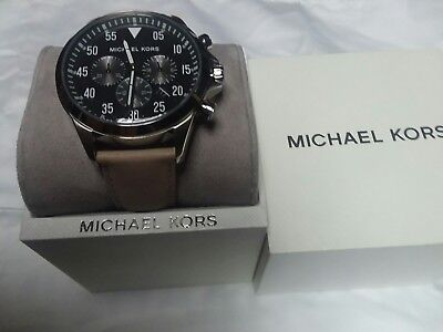 cdf8de4f615e MICHAEL KORS GAGE Chronograph Blue Dial MK8362 Mens Watch -  164.80 ...