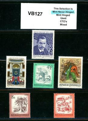 PKStamps - 1c Start - vb127 -  Austria - From Album Page