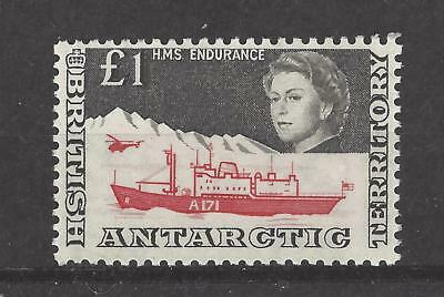 British Antarctic Territory  # 24,  Mvlh,  High Value, Definitive / Pictorial