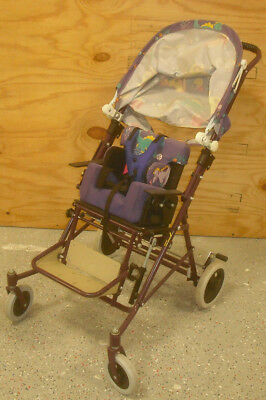 Child Special Needs Pediatric Positioning Chair Stroller, Wheelchair