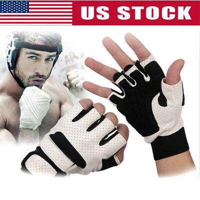 Men Women Gym Gloves With Wrist Wrap Support For Weight Lifting/Workout/Fitness