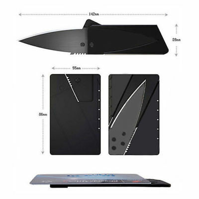 Safety Folding Credit Card Wallet Knife Cardsharp Sharp Razor Survival Tool Thin