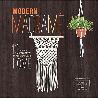 Modern Macrame Book & Kit-