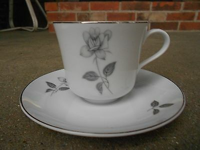 QUEENS ROYAL Fine China COFFEE CUP and SAUCER  Made in Japan