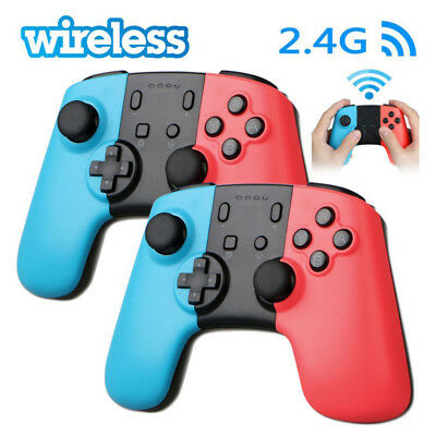 2x Wireless Pro Controller Joypad Gamepad Remote for Nintendo Switch Console WQ