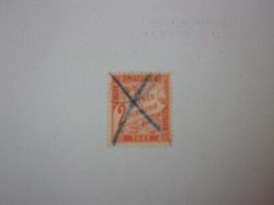 France Timbre Taxe N°41 Oblitere. Cote 75 Euros