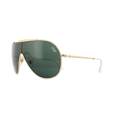 d1d93cb4830 RAY-BAN SUNGLASSES WINGS RB3597 905071 Gold Dark Green -  140.00 ...