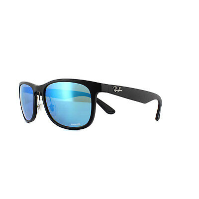 ee8465a48c Ray-Ban Sunglasses RB4263 601SA1 Matte Black Blue Mirror Polarized Chromance