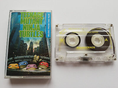 Teenage Mutant Ninja Turtles  OST - Cassette, 1992 Made In Poland