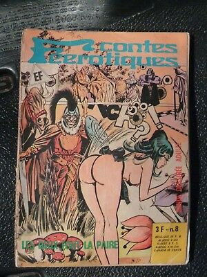 CONTES FEEROTIQUES N°8 . ELVIFRANCE . 1975 .Petit format