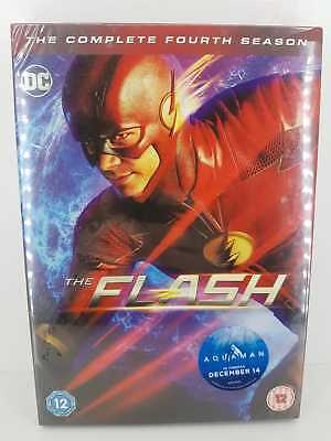 The Flash The Complete Fourth Season 4 DVD - New and Sealed FREE P&P