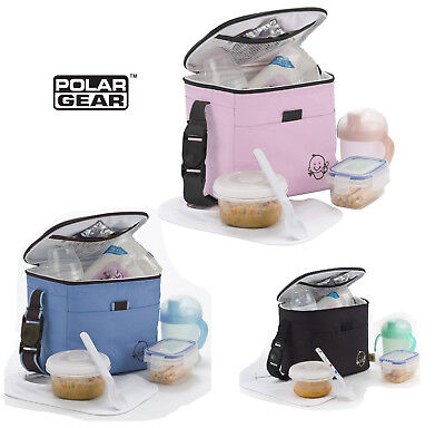 Polar Gear Little Ones Lunch Bag Insulated Cool Hot Baby Food Drink & Milk Pouch
