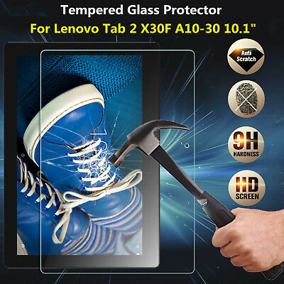 Genuine Tempered Glass 9h Screen Protector For Lenovo Tab 3 10.1 Inch TB-X103F