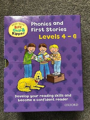 Oxford Reading Tree Read With Biff, Chip And Kipper Levels 4-6 25 Books