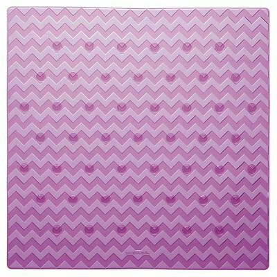 Sealskin Alfombrilla de Seguridad Baño Leisure 53x53 cm de Color Rosa 315242650