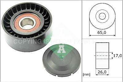 AUDI A8 4H 3.0D Aux Belt Idler Pulley 2010 on Guide Deflection INA 059903341G