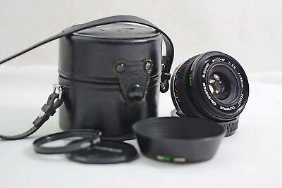 Olympus Om 28Mm F3.5 Auto Zuiko Camera Lens For Om-1 Om-2 Om-3 Om-4 (Exc+)