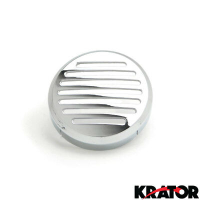"""NEW 3.5"""" Round Horn Chrome Horn Cover For Honda Motorcycle Cruisers Shadow Sabre"""