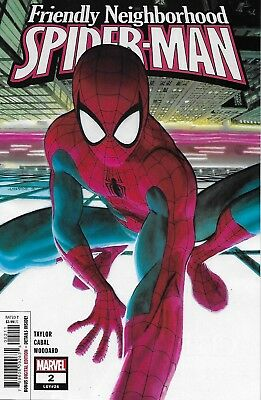 Friendly Neighborhood Spider-Man Comic Issue 1 Modern Age First Print 2019 Cabal