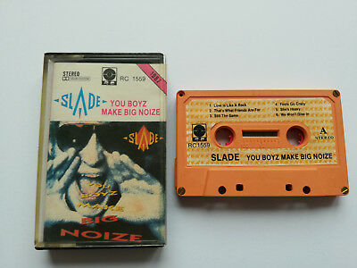 Slade - You Boyz Make Big Noize - Cassette, Made In Poland 1987