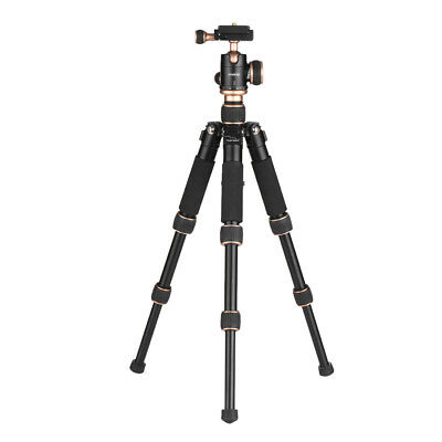 Andoer Travel Mini Tripod Stand +Ball Head Quick Release Plate for Canon Cameras