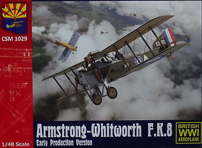 Copper State Models #1029 Armstrong-Whitworth F.K.8 Early Production in 1:48