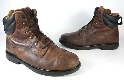 bb4de26a12ef1 TIMBERLAND PRO SOFT Toe Work Boots Men's Shoe Size 13 W Wide Brown Lace Ups