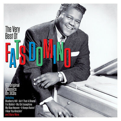 Fats Domino - The Very Best Of / The Greatest Hits 3CD NEW/SEALED