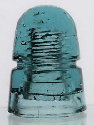 Steel Blue Cd 145 No Embossing Grand Canyon Style Beehive Glass Insulator