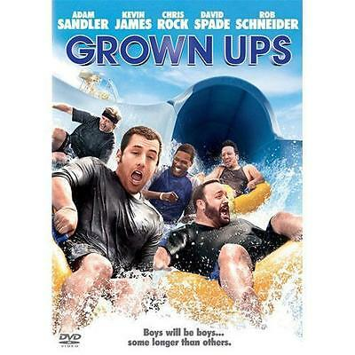 BRAND NEW DVD Grown Ups ADAM SANDLER CHRIS ROCK DAVID SPADE KEVIN JAMES