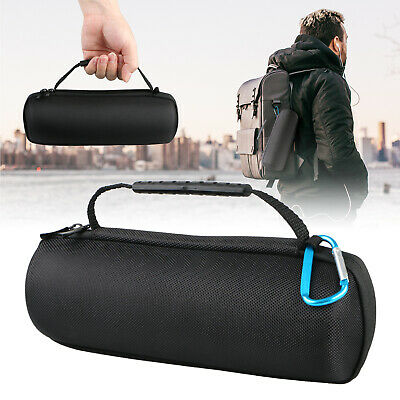 For JBL Flip 4 BT Speaker Travel Hard EVA Carrying Case Handle Sleeve Bag